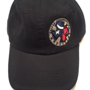 Color Logo Left Embroider Black Cap