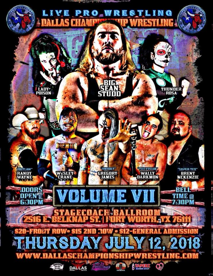 Dallas Championship Wrestling July 12th