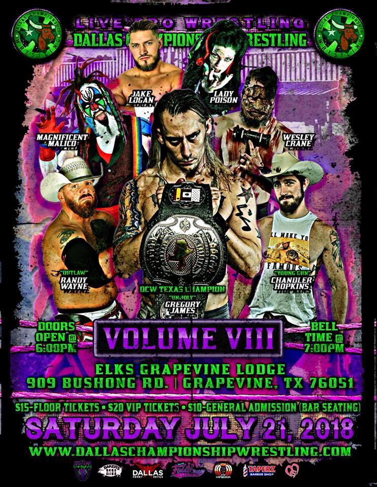 Dallas Championship Wrestling July 12th