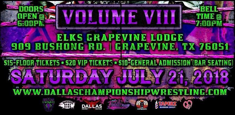 Vol VIII July 21st