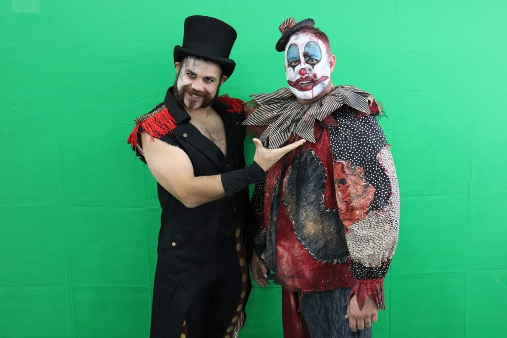 Stewy the Cannibal Clown and Ring Master